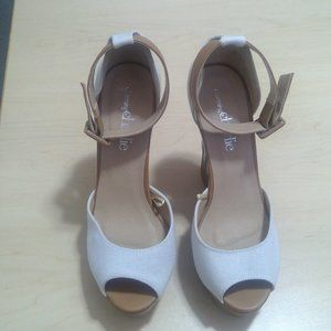 Charming Wedge Sandals - NEVER WORN